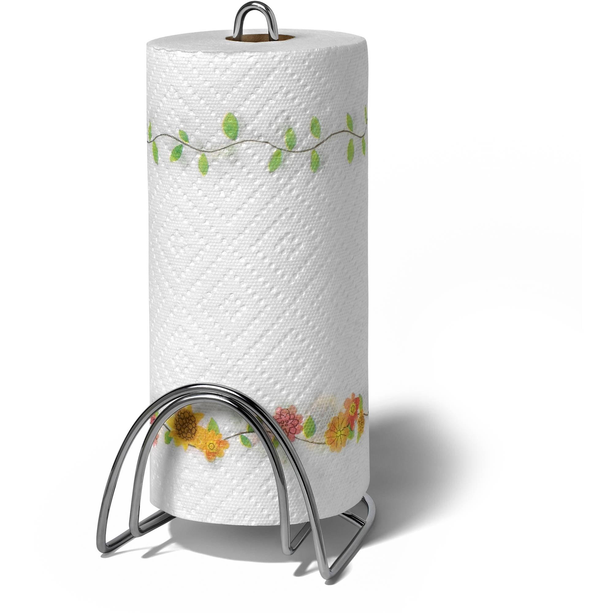 Spectrum St. Louis Classic Paper Towel Holder, Chrome