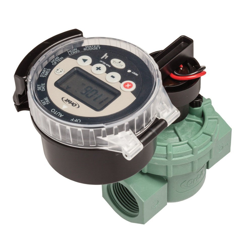 WaterMaster Battery Operated Sprinkler Timer with Valve B...