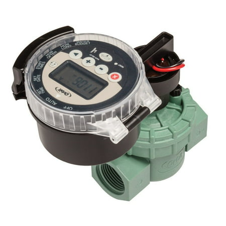 WaterMaster Battery Operated Sprinkler Timer with Valve By Orbit Ship from (Battery Operated Sprinkler Controller)