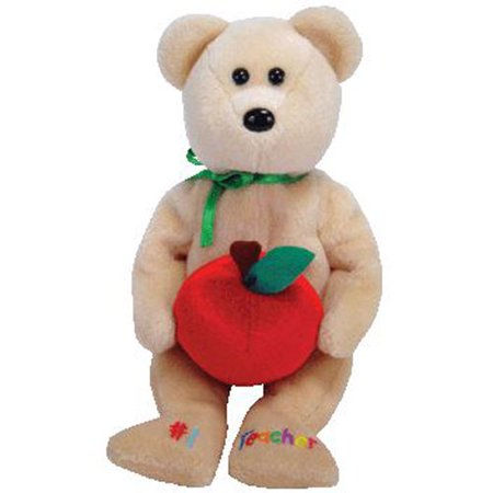 TY Beanie Baby - #1 TEACHER the Bear (Internet Exclusive) (8 inch) - Teachers Stuff