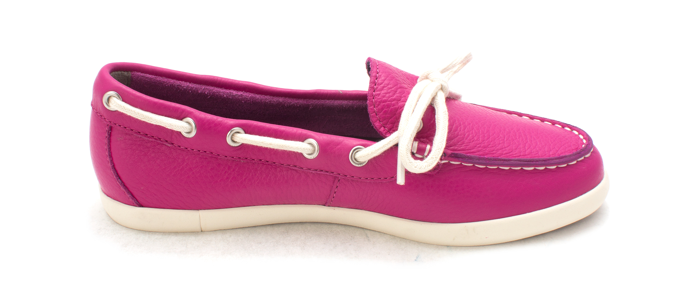 Cole Haan Womens W02519 Closed Toe Boat Shoes, Fuchsia Red, Size 6.0