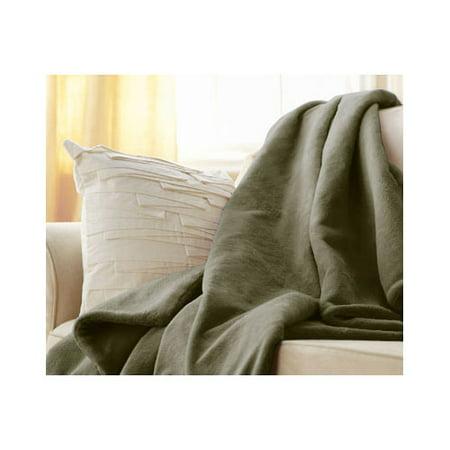Sunbeam Microplush Electric Heated Throw Blanket - Assorted Colors /