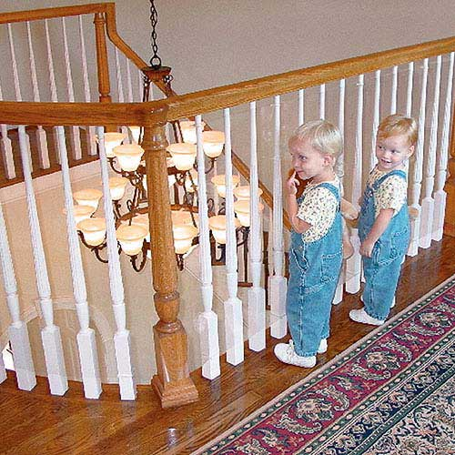 how to add baluster shoe after installed
