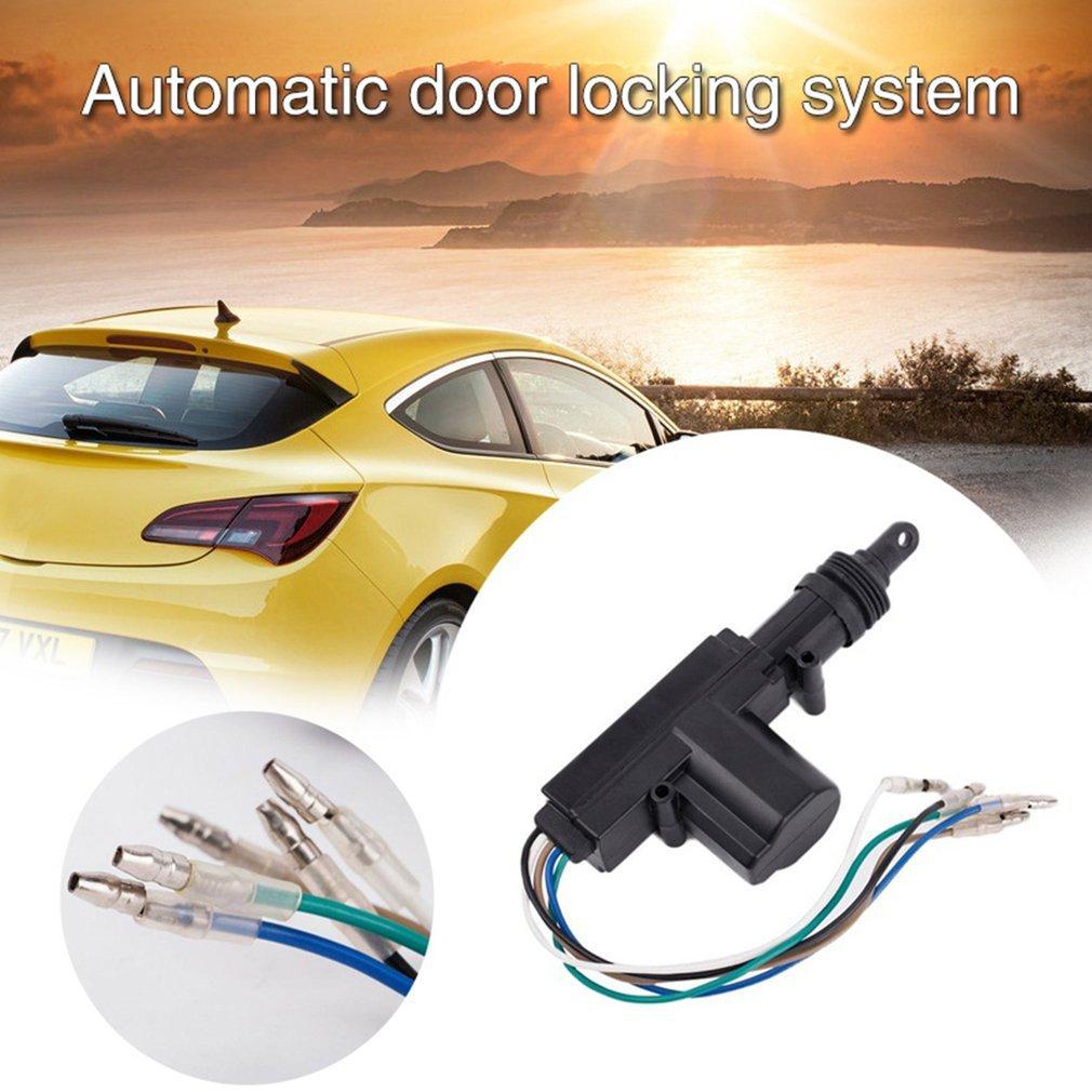 Heavy Duty Power Door Lock Actuator Motor 5 Wire 12V Car Locking System