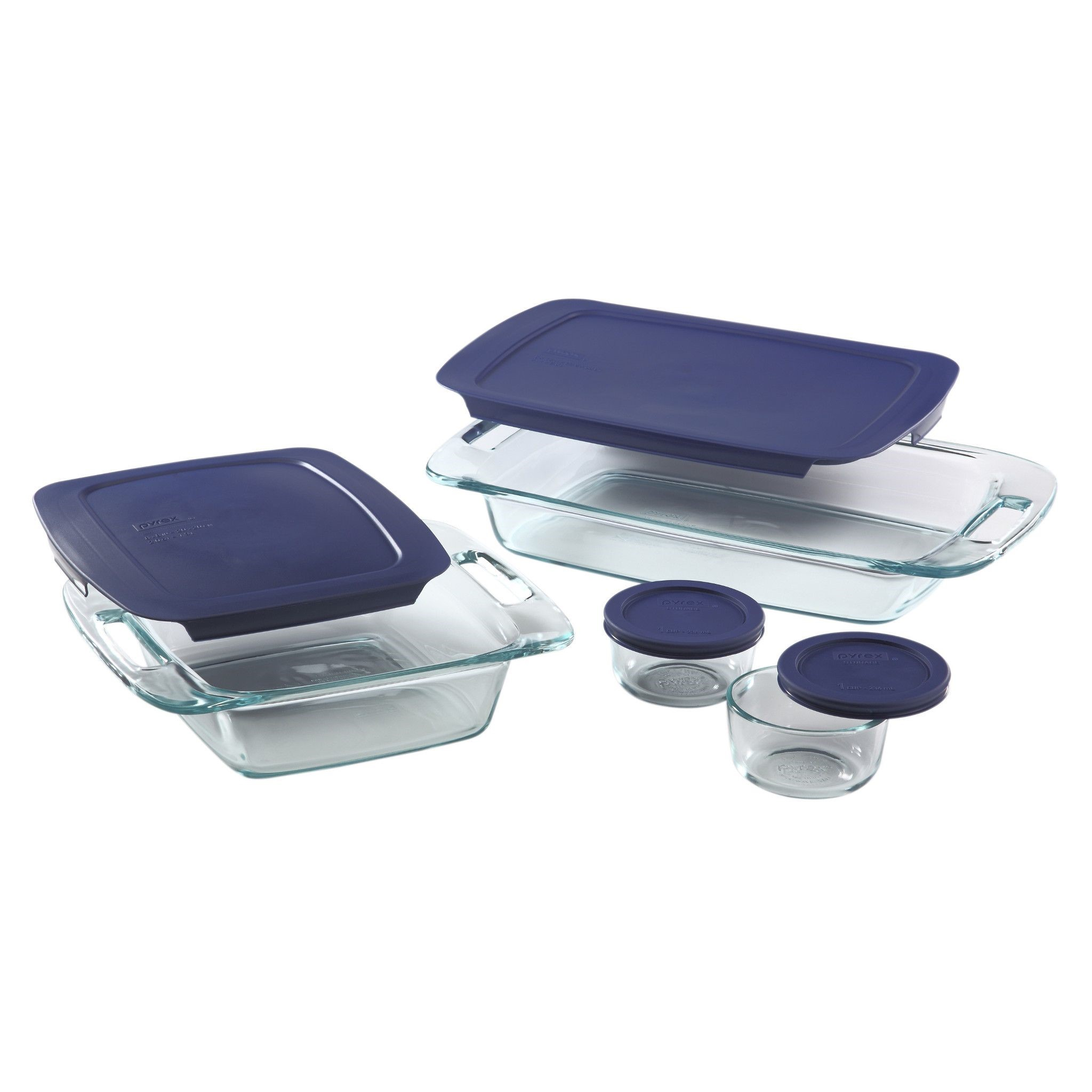 Pyrex Easy Grab 8-Piece Bake and Store Set