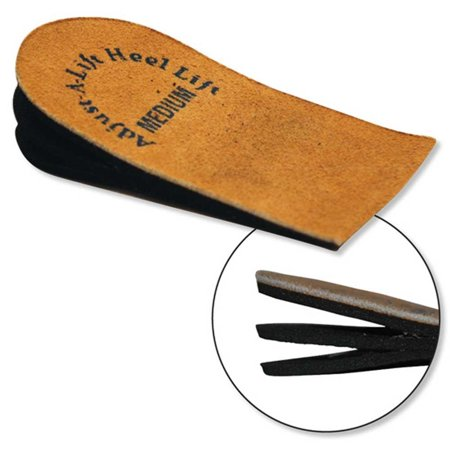 Adjust-A-Lift Heel Lift 575_Medium Adjustable Heel Lift Single Insert, Medium, Great for leg length inequalities, heel spurs, and other clinical.., By AdjustALift Heel Lift
