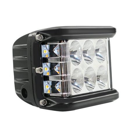 Side LED Lights Triple LED Pods Light 1Pcs 4
