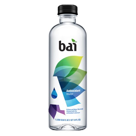 - Bai Antioxidant Infused Water, 33.8 Fl Oz, 12 Count