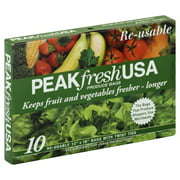 Ganzerla & Associates, PeakFresh Re-usable Produce Bags, 10 bags