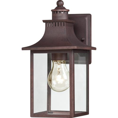 Quoizel Chancellor 1-light Copper Bronze Small Wall Lantern by Quoizel