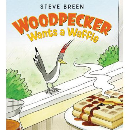 Woodpeckers Animals (Woodpecker Wants a Waffle)