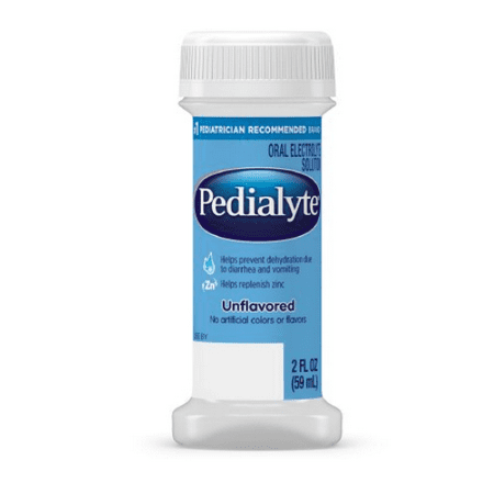 Small 2 Ounce Bottle - Pedialyte Unflavored 2 oz. small bottle - 1 Each
