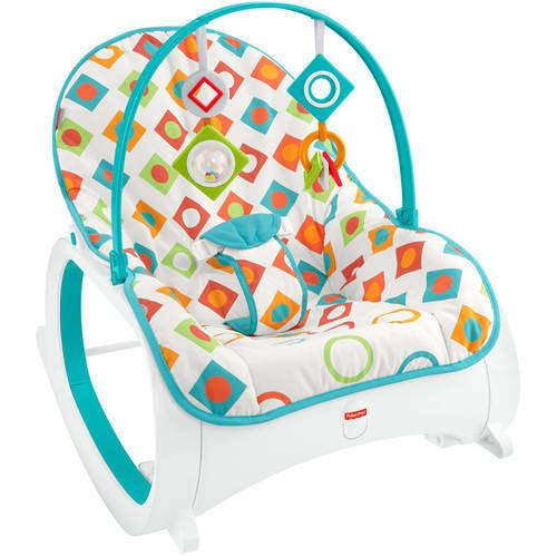Infant Newborn Rocking Chair - Fisher-Price Infant-To-Toddler Rocker, Geo Diamonds