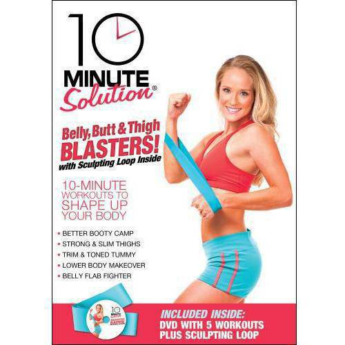 10 Minute Solution: Belly, Butt And Thigh Blasters! (Full Frame)