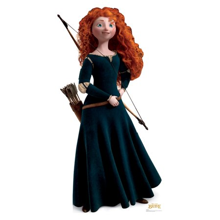 Cheap Merida Costume (Disney Pixar BRAVE Princess Merida Standup Standee Cardboard Cutout)