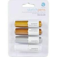 Silhouette Metallic Sketch Pen Pack