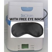 SoClean 2 CPAP Cleaner and Sanitizer INCLUDES FREE EYE MASK
