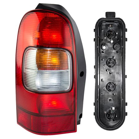 Circuit Card Assembly - Drivers Taillight Taillamp Lens with Circuit Board Assembly Replacement for Chevrolet Oldsmobile Pontiac Van 10353279 12335926