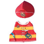 Dexter Educational Toys DEX1210 Fire Fighter Dress Up For Dolls And Teddy Bears