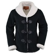 Outback Trading Jacket Womens Sky Fleece Sherpa Zipper Toggle 48715