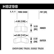 Hawk LTS Street Brake Pads