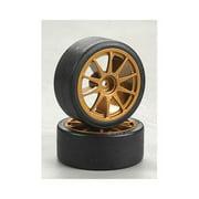 51219 Drift Tires Type D & Wheels Multi-Colored