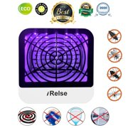 2020 Newest USB Electric Mosquito Killer Mosquito Lamp w/ UV LED Light, Powerful Bug Zapper Insect Pest Control Trap Catcher Indoor Outdoor Nontoxic Noiseless No Radiation- Home Bedroom Office Camping