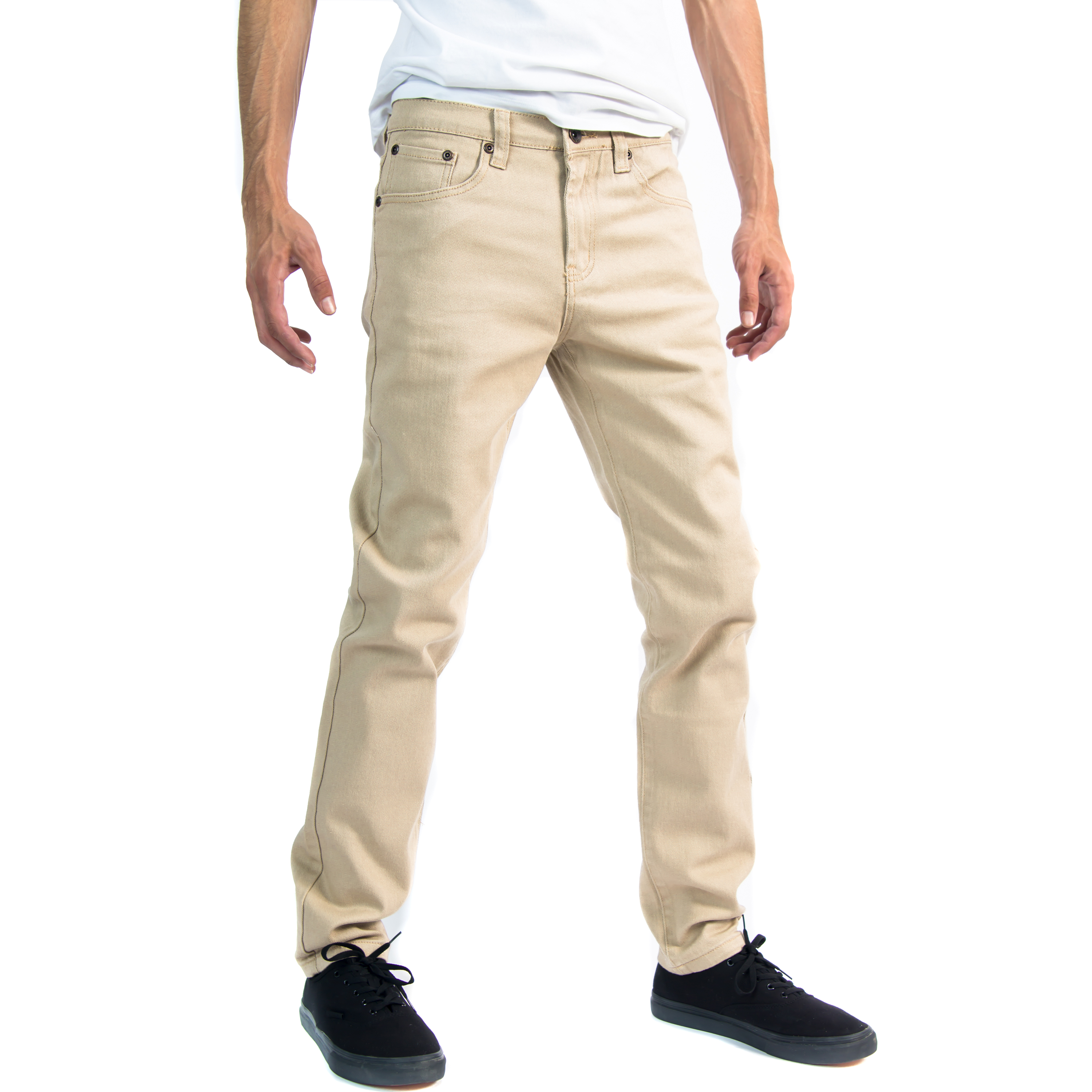 Premium Designer Fashion Mens Slim Fit Skinny Denim Jeans - Multiple Styles