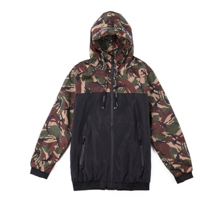 - Big and Tall Men's Hooded Jackets Zip Up Jacket Camo Sweatshirt Hooded Windbreaker Jacket Coat Outwear M-6XL