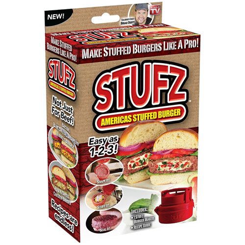 As Seen On TV StufZ Stuffed Burger Maker