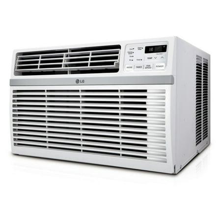 Lg Lw1016er 10 000 Btu 115V Window Mounted Air Conditioner With Remote Control