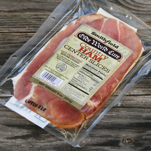 Smithfield Country Ham Olde World Cure Center Slice Ham Steaks by