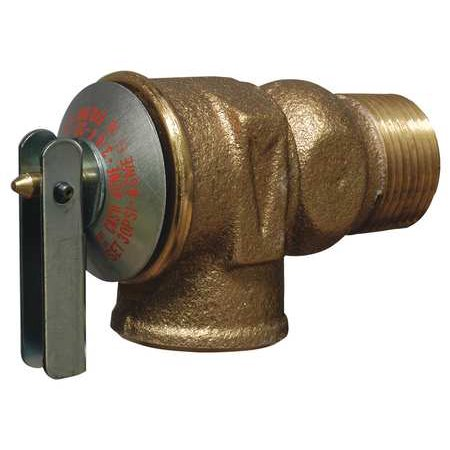 Cash Acme F-30 3/4 In Safety Relief Valve, 30 psi 300 Psi Safety Valve