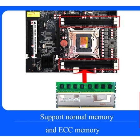 Desktop Computer PC ATX Motherboard Dual USB e5motherboard 3.0 For Intel E5 Motherboard X79 SOCKET LGA 2011 DDR3 Support E5 1866/1600/1333 - image 7 of 11