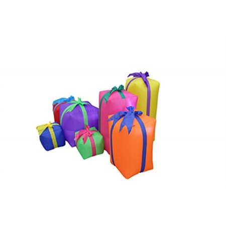 6 Foot Long Christmas Inflatable Gift Boxes Yard Decoration - image 3 de 4