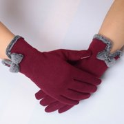 Ladies Womens Knitted Winter Warm Thermal Thinsulate Insulation Lined Gloves New