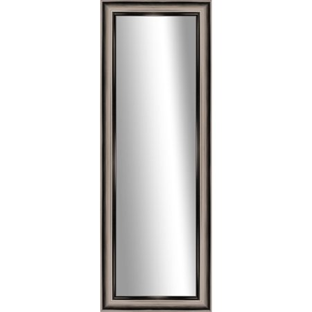 Verona gold stand up mirror for Gold standing mirror