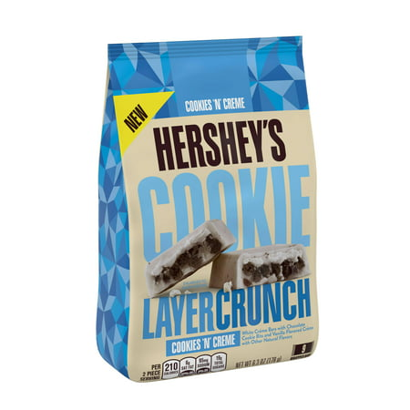 (3 Pack) Hershey's Cookie Layer Crunch, Cookies âÂÂnâ Creme Candy Bar, 6.3 Oz - Candy Crush Halloween Sale