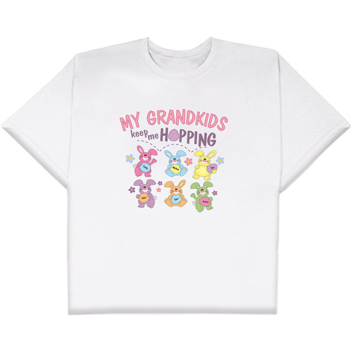 "Personalized ""Keep Me Hopping"" Women's T-Shirt"