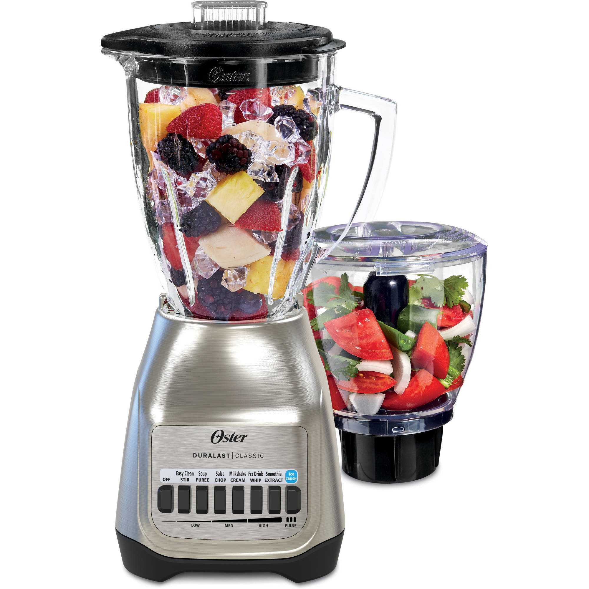 Oster 12-Speed Blender with Food Processor