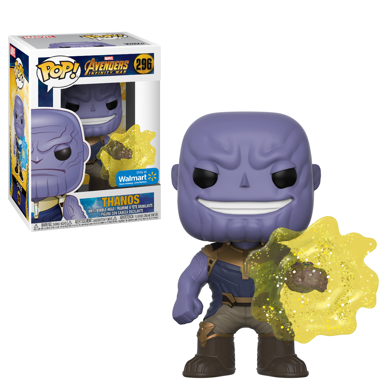 POP! Marvel: Avengers Infinity War - Thanos - Walmart Exclusive