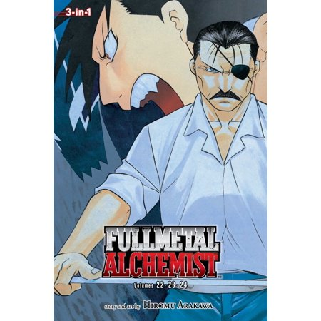 Fullmetal Alchemist (3-in-1 Edition), Vol. 8 : Includes Vols. 22, 23 & (Including Metal)