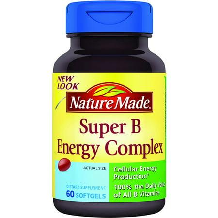 Nature Made Full Strength Minis Super B Energy Complex Reviews