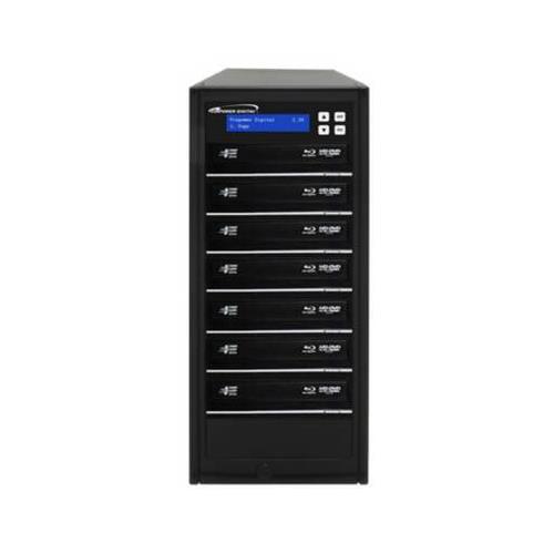 Vinpower Digital Econ-S7T-BD-BK Econ Series 1 to 7 12x SATA Blu-ray   DVD   CD Duplicator with 500GB Hard... by Vinpower Digital
