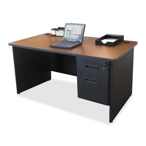 Lorell Executive Desk with Single Pedestal