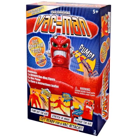 The Original Stretch Armstrong Vac-Man Action Figure Double Action Stretch Mark