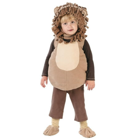 Baby Lion Vest Costume - Up To 24 Months - Lion Costume Kit