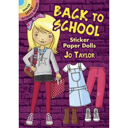 Dover Little Activity Books: Back to School Sticker Paper Dolls (Paperback)