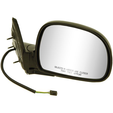 Dorman (OE Solutions) 955-302 Exterior Mirror  OE Replacement; Single; Black; Power; Foldaway; Without Heated Mirrors; Without Turn Signal Indicators - image 1 of 1