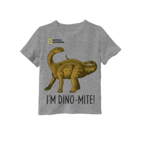 Z Boys Dino (National Geographic Dino Tee (Toddler)